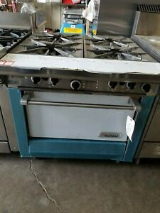 New Garland Heavy Duty 34 4 Burner Natural Gas Commercial Us Range