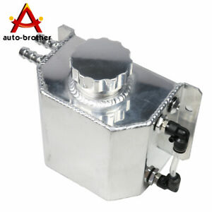 New Aluminum Coolant Radiator Overflow Recovery Water Tank Bottle 1l Universal