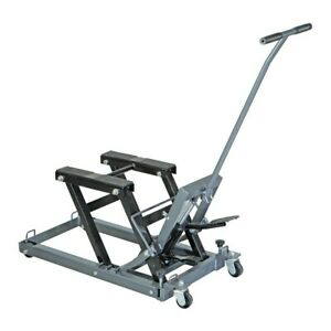 Motorcycle Atv Quad Lift 1500 Lb Capacity Jack Stand Lift Range 5 1 4 To 17