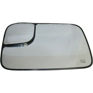 New Mirror Glass Driver Left Side Heated For Ram Truck Lh Hand 1500 Ch1324121