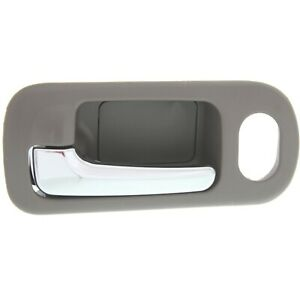 Power Lock Front Chrome Brown Inside Door Handle Driver Left Lh For Civic