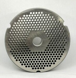 32 Speco Meat Grinder Plate With 1 8 Holes Reversible Hubbed Plate 1022