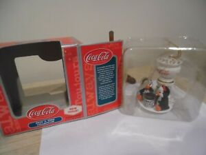 coca cola trim a tree collection penquins by soda fountain