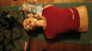 Ambu Adult Cpr Training Manikin Carry Bag And Mouthpieces