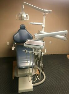 Dental Hygiene Package Chair Unit W vacuum Light Engle Forest And Belmont