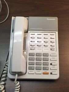 Panasonic Business Phone System Kx ta824 Tvs75 Voicemail System 8 Handsets