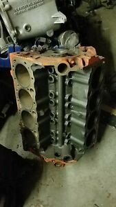1964 Chevy 283 Engine Block Gm Casting 3849852 Dated E 11 4 Standard Bore