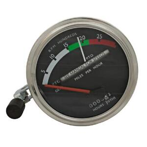 Tachometer Gauge Red Needle Fits John Deere 4620 6030 4520 4320 3010 4020 4010 4