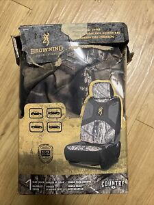 1x Browning Lowback Seat Cover And 1x Mossy Oak Cover Bsc7009 Msc7009 New