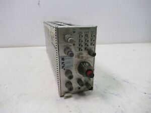 Tektronix 7b85 Delaying Time Base Plug in Module For Chassis Lab Unit