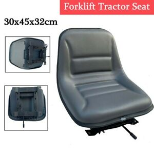 Forklift Tractor Seat Waterproof Forklift Suspension Seat W Sliding Tracks Us