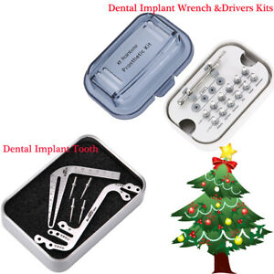 Dental Implant Torque Wrench Drivers Kits Implant Surgical Drill Guide Locator