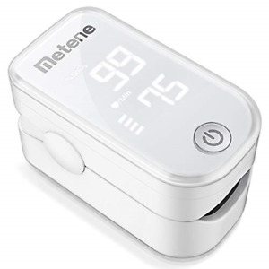 Pulse Oximeter Fingertip Blood Oxygen Saturation Monitor Heart Rate Fast Spo2