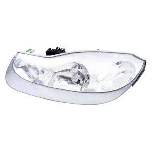 Drivers Halogen Headlight Headlamp Assembly For 2001 2002 Saturn S Series Coupe