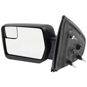 Door Mirror Fits 09 14 Ford F 150 Pickup Truck Driver Side Power Spotter Glass