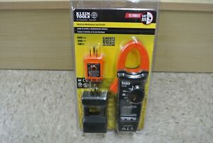 Klein Tools Electrical Maintenance And Test Kit Cl110kit Brand New