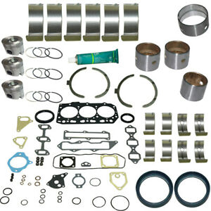 3tnv88 Engine Overhaul Kit For Yanmar 3 Cyl Engines With 3 46 Bore 88 Mm
