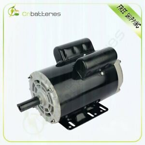 5 Hp Air Compressor Electric Motor 56hz Frame 3450 Rpm Single Phase 22 0 21 0a