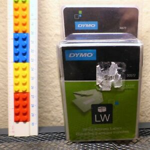 Dymo Lw Label Writer White Address Labels 30572 New In Box Two Rolls
