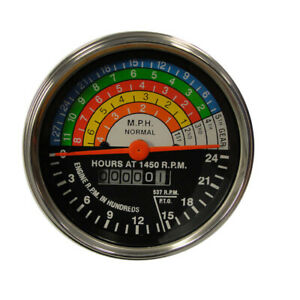 Tachometer For Fits Farmall Ih 400 450 W400 W450 Diesel Acw Replacement 364395r