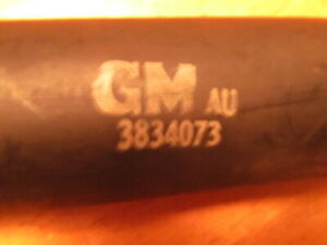 1967 Camaro 1968 Nos Gm Gas Tank Filler Hose W Markings And Gm Part Number Z28