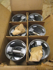 1951 1952 1953 Hudson Pacemaker 6cyl 6 Nors Silvolite Pistons 51 52 53