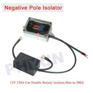 Car Double Battery Isolator Protector Battery Controller Negative Pole Isolator