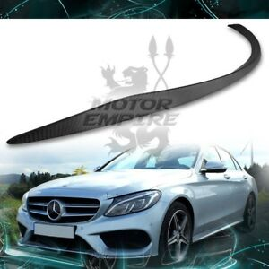 Matte Carbon Fiber Rear Spoiler Wing Amg Style For 15 18 Mercedes C Class W205