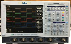Lecroy Wavepro 960 Xl Quad 2ghz 16gs s Digital Oscilloscope Loaded