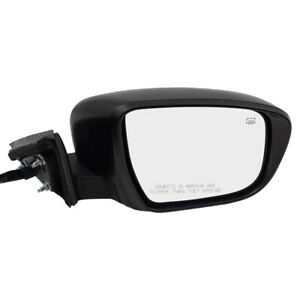 Passengers Power Side Mirror Heated Signal Camera Memory For 17 19 Nissan Rogue