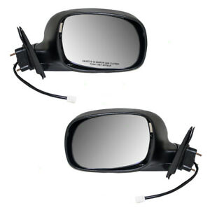 Fits Tundra Regular Access Cab Truck 00 06 Set Of Side View Power Mirrors