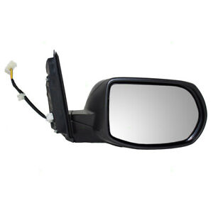 New Passengers Power Side View Mirror Glass Housing Assembly For 12 16 Honda Crv