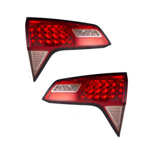 New Pair Set Taillight Tail Lamp Lid Mounted Lens Assembly For 16 17 Honda Hr v