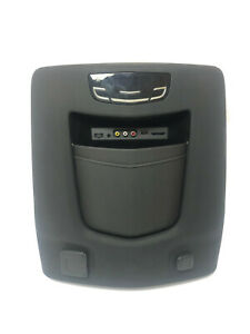 Oem 2015 2018 Cadillac Escalade Rear Center Console Panel Assembly Black