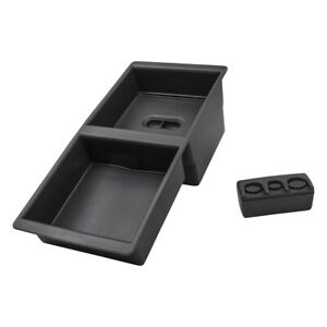 Center Console Organizer Coin Holder For 14 19 Gm Pickup Truck Suv 22817343