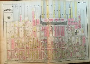 1908 Sunset Park Brooklyn New York Naval Militia Armory 38th 60th St Atlas Map