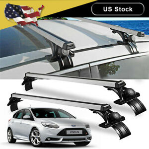 New Universal Car Top Roof Cross Bar Luggage Cargo Carrier Rack Window Frame 48
