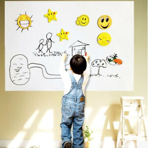 200 45cm Dry Wipe Removable Whiteboard Vinyl Wall Sticker Office Home Marker Us