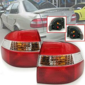 Tail Lights Lamp Pair Fit For Toyota Corolla Ae111 Ae112 Sedan 1997 98 99 2000