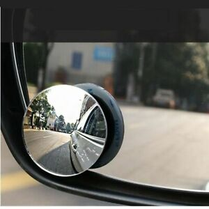 360 Degree Hd Blind Spot Mirror Car Reverse Frameless Ultrathin Wide Angle Round
