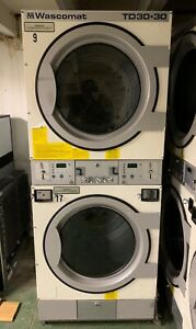 Wascomat Td3030 Dryer Stack Good Condition