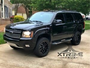 Black Paintable 07 14 Chevy Tahoe Oe Fender Flares Bolt On Smooth Factory Finish