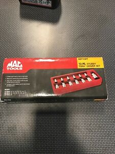 Mac Tools Sst13pt 13 Pc Star Bit Socket Set