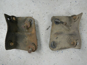 1963 Buick Skylark Special Rear Bumper Brackets Pair Supports 63