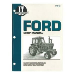I t Shop Manual For Ford 5000 5600 5610 6600 6610 7000 7600 7610 7000 7710