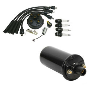 Complete Tune Up Kit 12v Coil Fits Ferguson To20 To30 To35 F40 Mh50 Tractor