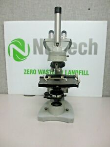 Spencer american Optical Dual Viewing Teaching Microscope W 2 Objectives