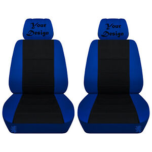 Front Seat Covers For A 2005 To 2010 Ford Mustang Your Customized Design Abf