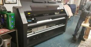 Summa Dc 4 Thermal Resin Digital Printer Cutter Ready To Apply Graphics