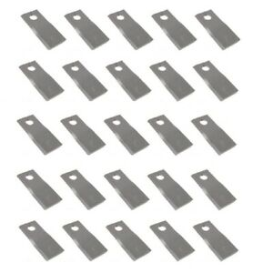 58700 Rm700 Disc Mower Blades Rh Pk Of 25 For Various Mowers See Description